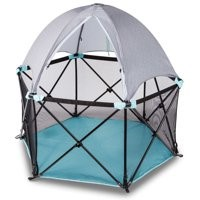 Deluxe Playards / child playpens with Full Canopy for Rent